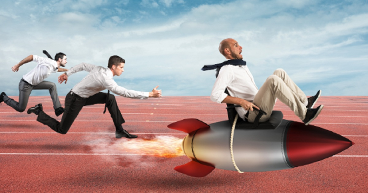 HOW TO STAY AHEAD IN THE GREAT ACCOUNT-BASED MARKETING RACE